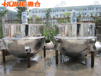 Show Vertical Steam Heating Jacketed Kettle with Agitator real pictures, so that customers an intuitive understanding of our product design and production of Vertical Steam Heating Jacketed Kettle with Agitator